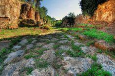 Via #Amerina #Tombs #Necropolis Cavo degli Zucchi #Nikon  #Samyang #8mm #fisheye #RiccardoCuppini