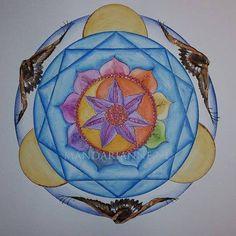 watercolor Mandala, Watercolor, Christmas Ornaments, Holiday Decor, Pen And Wash, Watercolor Painting, Christmas Jewelry, Watercolour, Christmas Decorations
