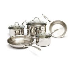 all clad stilll 1 but this is a good price runner up for cookware after triplyclad and a bit more expensive calphalon triply stainless steel cookware set - Calphalon Tri Ply Stainless Steel