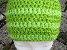 Green Knit Beanie Unisex Beanie Pom Pom BeanieGreen by gremArt