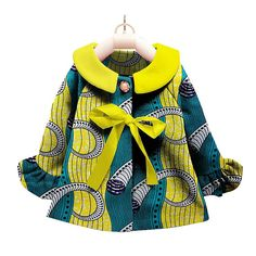 Different bright colors Suitable for girls 8 years and above. Please see size chart African Dresses For Kids, African Tops, African Print Dresses, African Women, African Inspired Fashion, Latest African Fashion Dresses, African Print Fashion, African Attire, African Wear