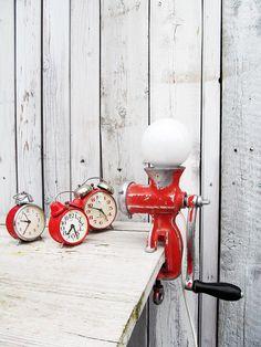 uPcYcLiNg! Tischlampe iNdUsTrIaL! von Gerne Wieder auf DaWanda.com