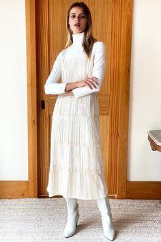 Shop All Fringe Dress, Linen Dresses, Fall Looks, Bohemian Style, Bohemian Fashion, Spring Fashion, Dress Outfits, White Dress, Normcore