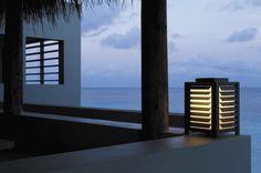 Floor-standing lamp / contemporary / garden / plastic KABAZ Modular Lighting Instruments