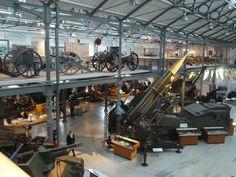Firepower museum Woolwich. Photo Martin Sepion