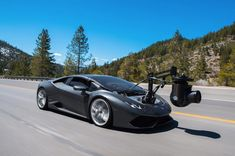 Meet The World's Fastest Camera Car: The Lamborghini 'HuraCam' - UltraLinx Camry 2012, System Camera, Most Expensive Car, Car Camera, Digital Trends, Car In The World, Toyota Camry, Car Brands, Models