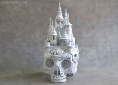 Detailed Antique Metal Sculptures by Alain Bellino