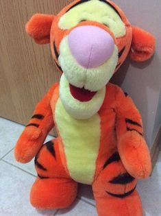 Mattel Walt Disney World Co. large standing Tigger plush stuffed animal | Toys & Hobbies, TV, Movie & Character Toys, Winnie the Pooh | eBay!