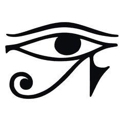 Eye of Horus.An Egyptian protection symbol. A tattoo idea.