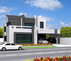 design a house building 2D Drawings of planning 3D exterior in... by blinda567