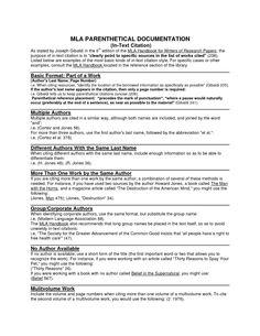 mla format examples modern language association mla essay mla parenthetical citation google search acircmiddot persuasive writingessay