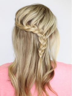 Lace Braided Hairstyles for Prom