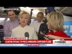 Run away faster than Usain Bolt Killary will spew talking points all day, but watch her run when press asks her about O'Keefe videos
