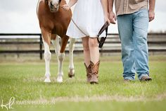 8 horse farm engagement pictures tampa