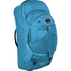 Osprey Packs Farpoint 55 Pack 31733356cu in Caribbean Blue SM    This is an  Amazon 3767b94500cc