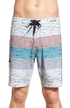 d3a048e51bb28 Imperial Motion 'Howard' Stripe Board Shorts Stripe Print, Stretch Fabric,  Nordstrom,
