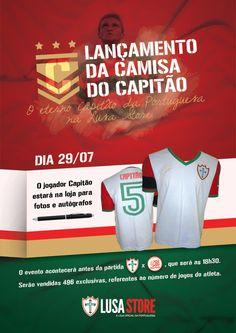 Identidade para lançamento oficial da Camisa do Capitão / Lusa - 2012