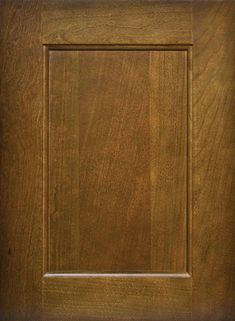 Townsend Flat Panel Door  Available Material: Standard Wood Species Color Shown: Buckskin Stain on Cherry Material Available in All Outside Profiles - Shown with Square Outside Profile Face Framing, Custom Cabinetry, Panel Doors, Wood Species, Cabinet Doors, Color Show, Cherry, Profile, Flat