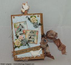 Kristins lille blogg: Mini posekort