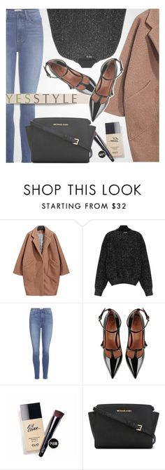 """""""YESSTYLE.com"""" by monmondefou ❤ liked on Polyvore featuring Paige Denim, RED Valentino, MICHAEL Michael Kors, modern, Winter and yesstyle"""