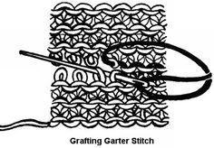 How to Knit Invisible Stitches - Grafting