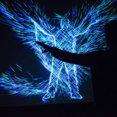 Insane Interactive Video Installation The Art + Science of Super Natural Motion by NIKE