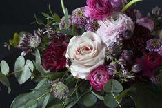 Blomster i rosa, lilla og burgunder er trendy denne vinteren. Rose, Flowers, Plants, Pink, Plant, Roses, Royal Icing Flowers, Flower, Florals