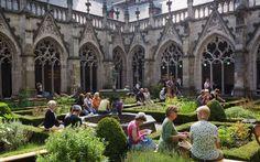 O Pandhof (pátio interno) é o jardim do monastério da Torre da Catedral em Utrecht. Esse tesouro escondido fica entre a Catedral de São Martinho e o Salão da Universidade (Academiegebouw), na Domplein. O Pandhof é um jardim idílico, onde florescem plantas ornamentais e ervas. É, sem dúvida, um dos mais belos jardins fechados da Holanda.