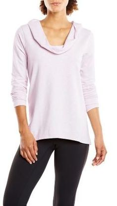 lucy Women's Surrender Pullover Sheer Lilac Heather L