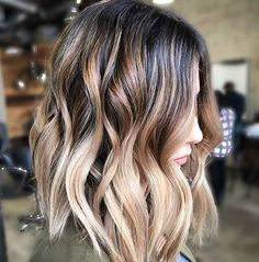 Hot Balayage Ombre Hair color Trends 2017