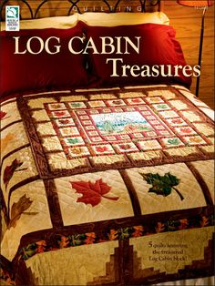 This book shows you how to think outside the log cabin block.