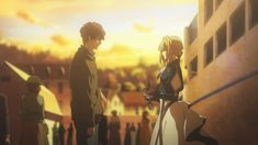 Top Anime Series, Violet Evergreen, Violet Garden, Violet Evergarden Anime, Fanart, Time Heals, Kyoto Animation, Hyouka, Anime Shows