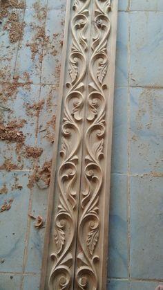 Wood Carving Designs, Wood Carving Art, Wood Entry Doors, Wooden Doors, Wooden Front Door Design, Beats Wallpaper, Temple Design For Home, Door Design Interior, Moldings