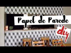 DIY: Papel de Parede Geométrico por Isabelle Verona - YouTube