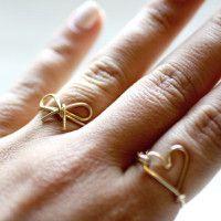 Wire Bow Ring | AllFreeJewelryMaking.com