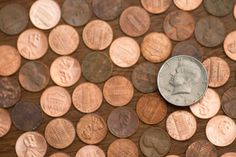 Ad: Heads or Tails by Otago Media on A high resolution photograph of a fifty cent piece laying on pennies. Fifty Cent, Office Images, Photography Words, Business Photos, Everyday Objects, Cool Photos, Creative, Pennies, 3d Background
