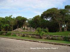 Fisherman's Village, Playa del Carman, Mexico, Mayan Ruins