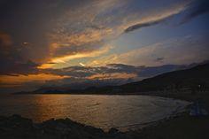 Sunset in Castiglione della Pescaia, Tuscany
