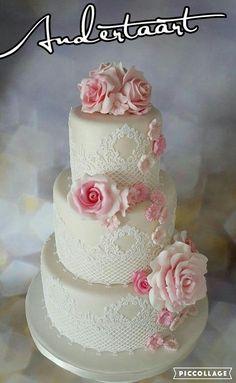 wedding cake - Cake by Anneke van Dam