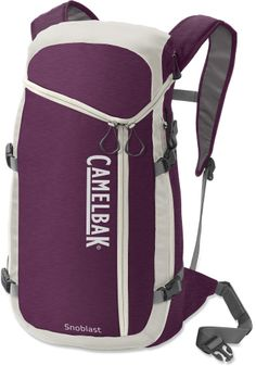 The women's CamelBak SnoBlast hydration snow pack keeps 18 liters of gear and two liters of water handy. #REIGifts