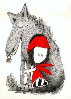 Red Riding Hood by Andrzej Tylkowski