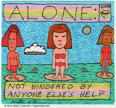 Being Alone #2 – From The Series Formerly Known as 'Unnamed'