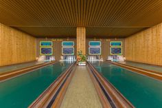 These German Bowling Alleys Deserve a Cameo in a Wes Anderson Movie