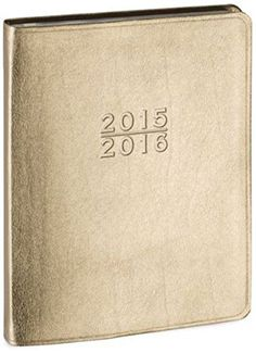 2015-2016 18-Month Large Gold Family Planner Calendar (Includes August 2015-December 2016) Made in USA Gallery Leather http://www.amazon.com/dp/1613263813/ref=cm_sw_r_pi_dp_mc9fwb0J2ND6E