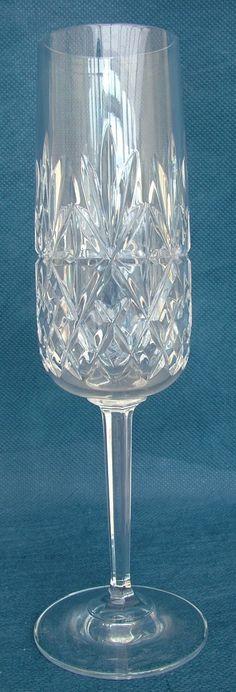Edinburgh Crystal Thistle Cut 13 Flower Vase Edinburgh Crystal