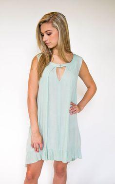 Mona Mint Tunic Dress