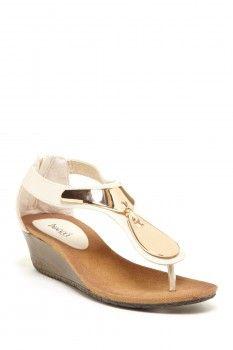 Bucco Demure Low Wedge Sandal