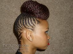Crochet Braids Florissant Mo : Cornrow and Updo on Pinterest