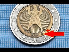 2 euro Germany 2002 Defect coin Defekte Münze Video Channel 555 EURO - YouTube