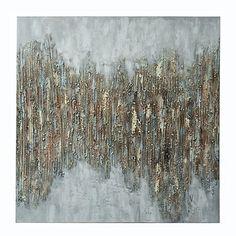 30d6c3af6 Luxe Sparkle Canvas Art Print | Kirklands Circle Canvas, Wall Spaces,  Canvas Art Prints